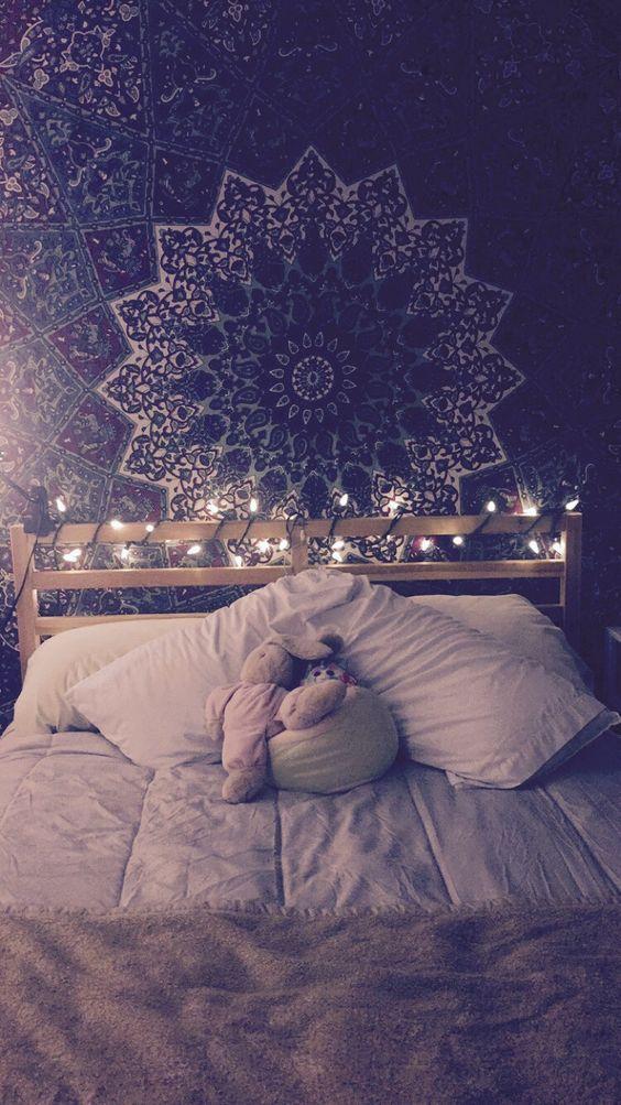 Cómo decorar tu dormitorio con preciosos mandalas - Mi cuarto