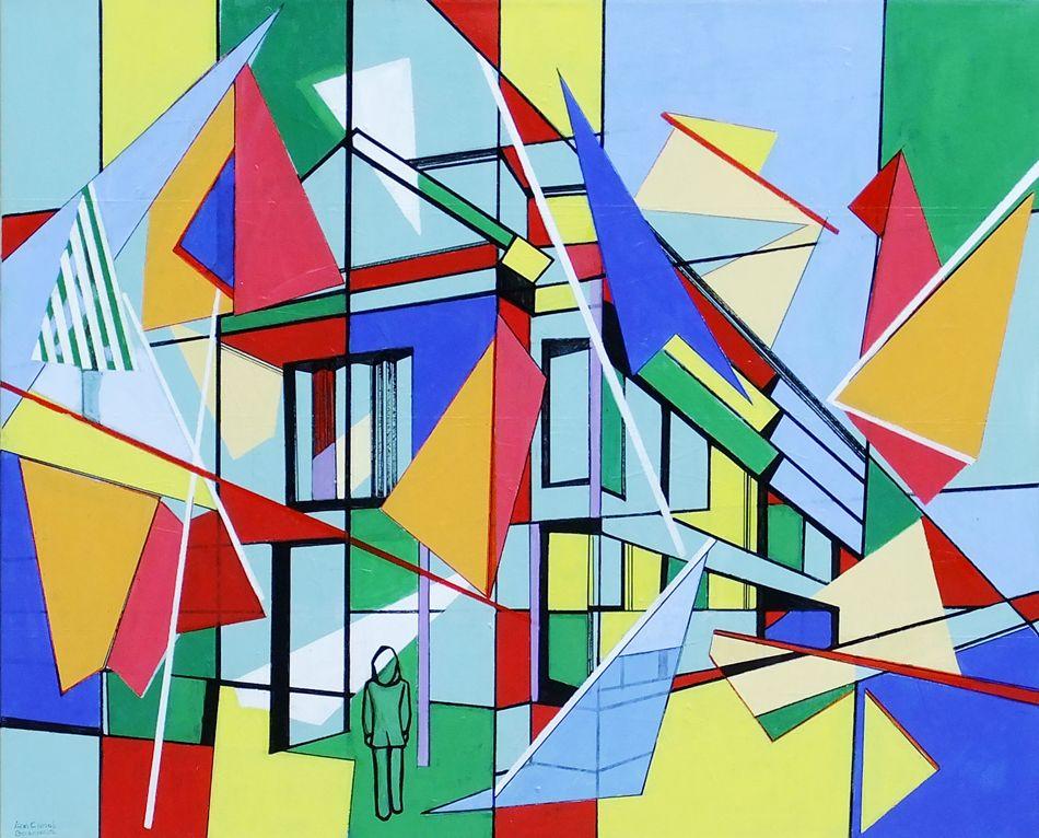 Deconstructivism art images galleries for Define mural art