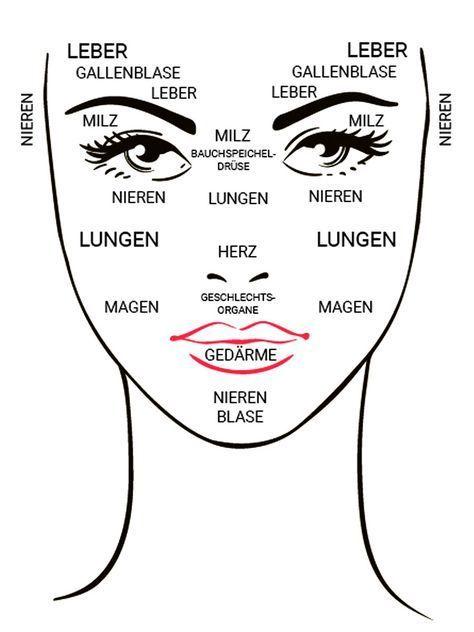 Was dein Gesicht über die Gesundheit deiner Organe verrät