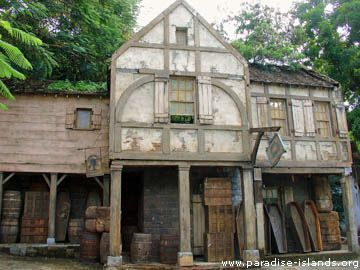 Pirates Of The Caibbean Movie Set
