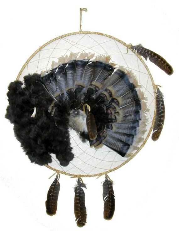 Can Dream Catchers Get Full Full Turkey Tail Dream Catcher by CreativeNative40 on Etsy 20