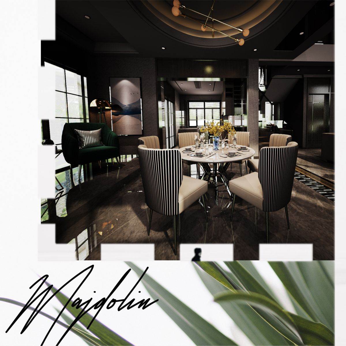 Dining room interior design inspired by nature #interior #interiordesignideas #interiordesignlivingroom #interiordesigner #diningroom #diningroomideas #diningroomdesign #diningroomdecorating #diningroomtable #diningroomdecor #interiorideas #design #designideas #greenliving #designsforlivingroom
