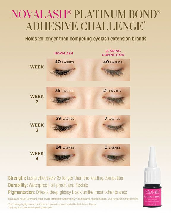 why choose novalash eyelash extensions? do the novalash challenge ...