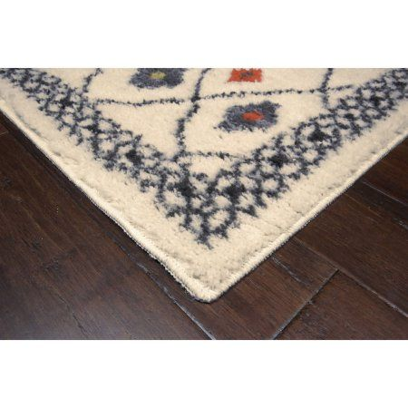 Better Homes And Gardens Bright Global Diamonds Print Area Rugs Or Runner Image 2 Of 3 Diamond Print Area Rugs Better Homes And Gardens