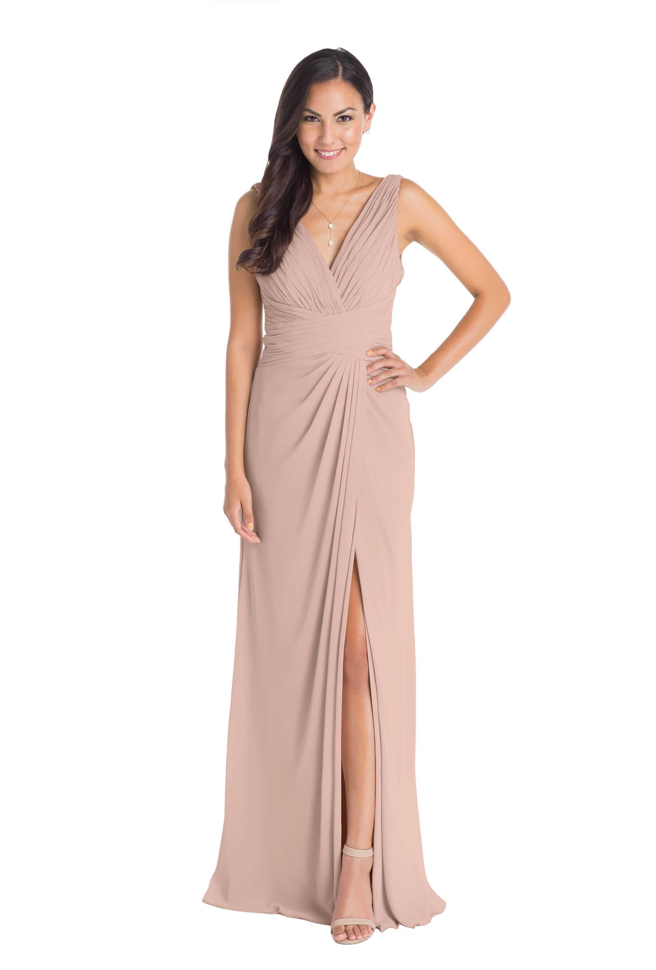 Watters maria navy bridesmaids chiffon gown and gowns watters maria ombrellifo Choice Image