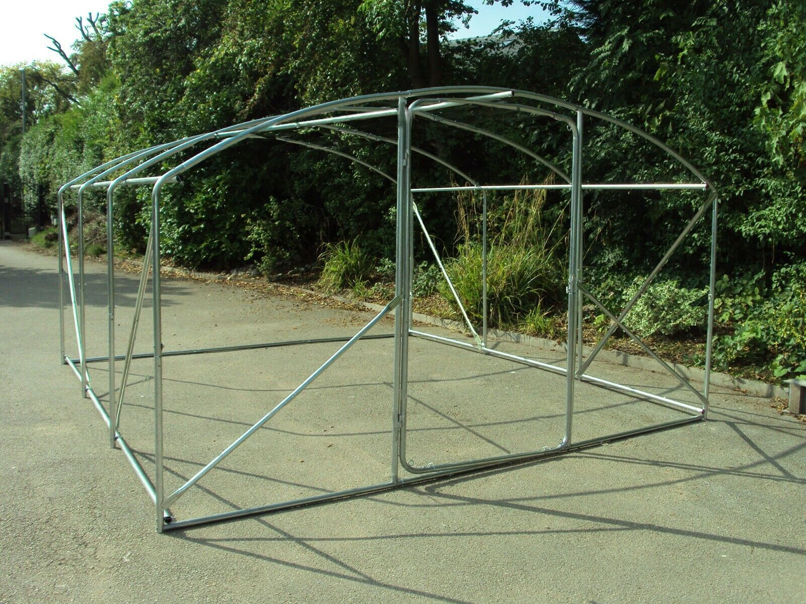 Frame Only 4x3 5m Polytunnel Plastic Tunnels Greenhouse Greenhouse Plant Tunnel In 2020 Plants Greenhouse Greenhouse Plants