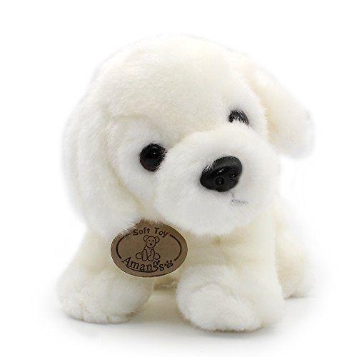 White Labrador Retriever Plush Puppies Stuffed Animals Do Pet