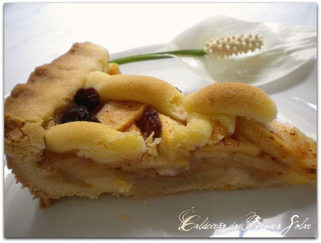 """Receitas do Caldeirão da Bruxa Solar: A torta de maçãs """"das bruxas"""" ~receita da colaboradora Lulu"""