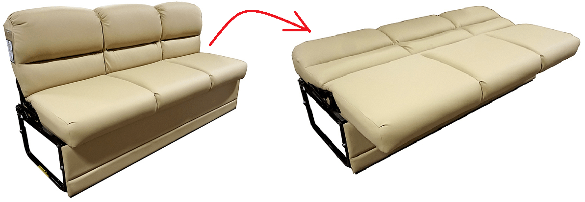 Rv Sleeper Sofa Bed Guide What To Know Before Replacing Your Sofa Sofa Cushions On Sofa Rv Sofa Bed