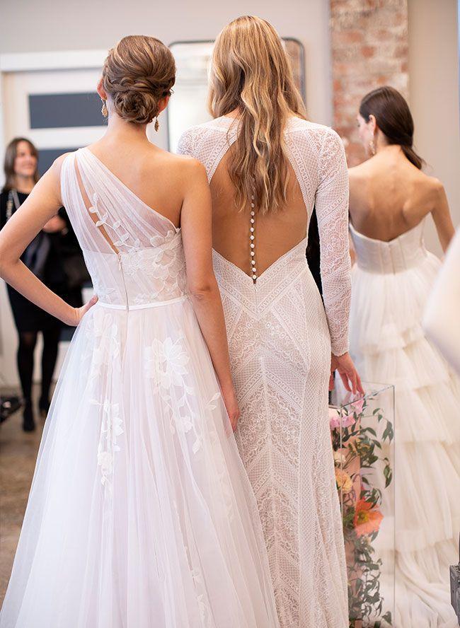 Fall 2016 Bridal Fashion Week | Anne barge wedding dresses
