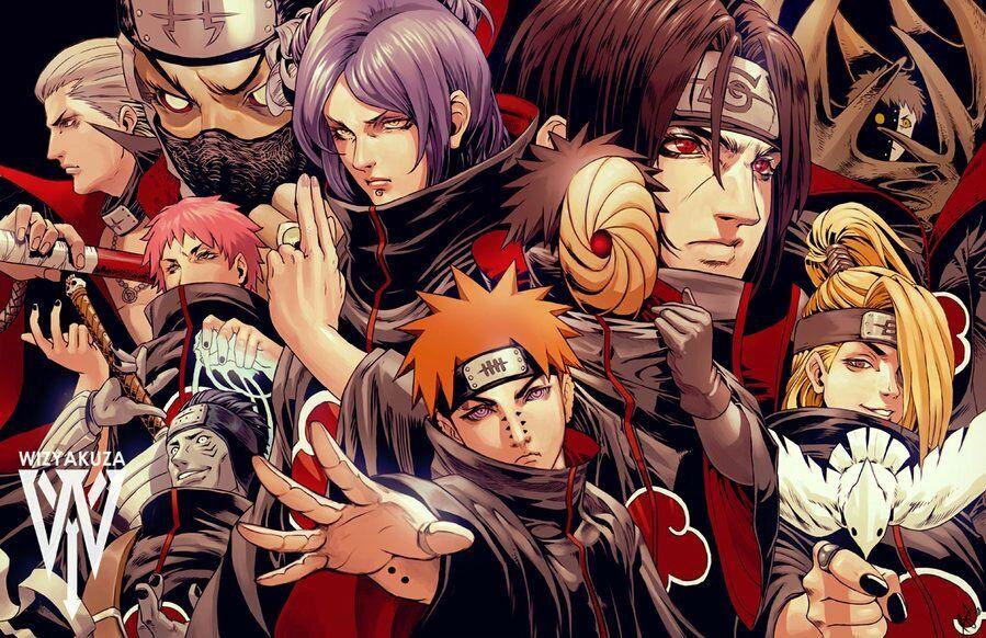 Naruto Imagens Akatsuki Naruto Anime