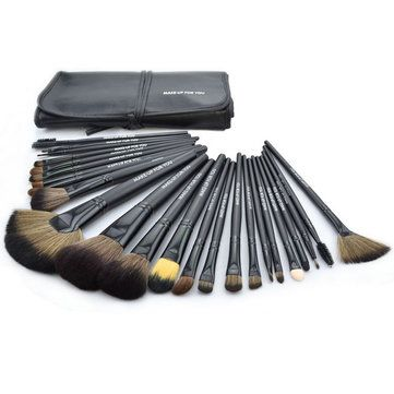 make up for you 24pcs professional cosmetic makeup brushes