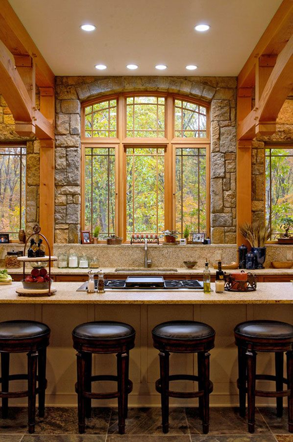 Stunning kitchen design For My New Home Pinterest Rustic