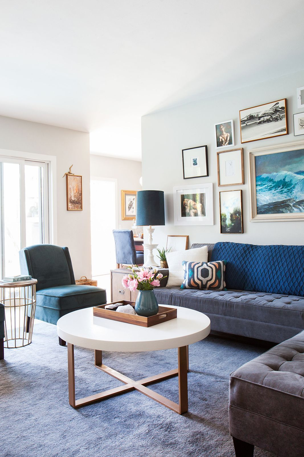 Make over your living room on a budget — like this