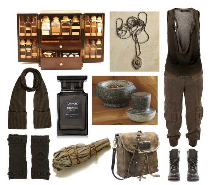 """mori-girl-life: """" The Herbalist's Son by maggiehemlock ...Witch Of Life Outfit"""