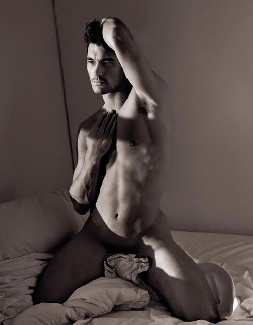 There model david gandy nude