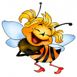 Funny Baby Girl Bee Laughing Clipart Library Laughing Animals Baby Bee Bee Clipart