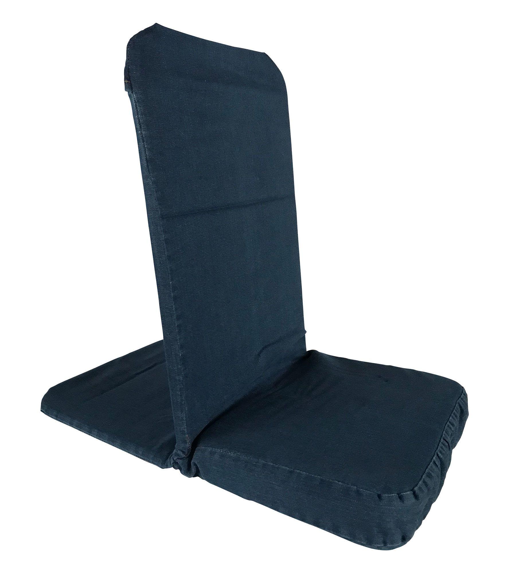 Backjack regular floor chair in light denim floor chair