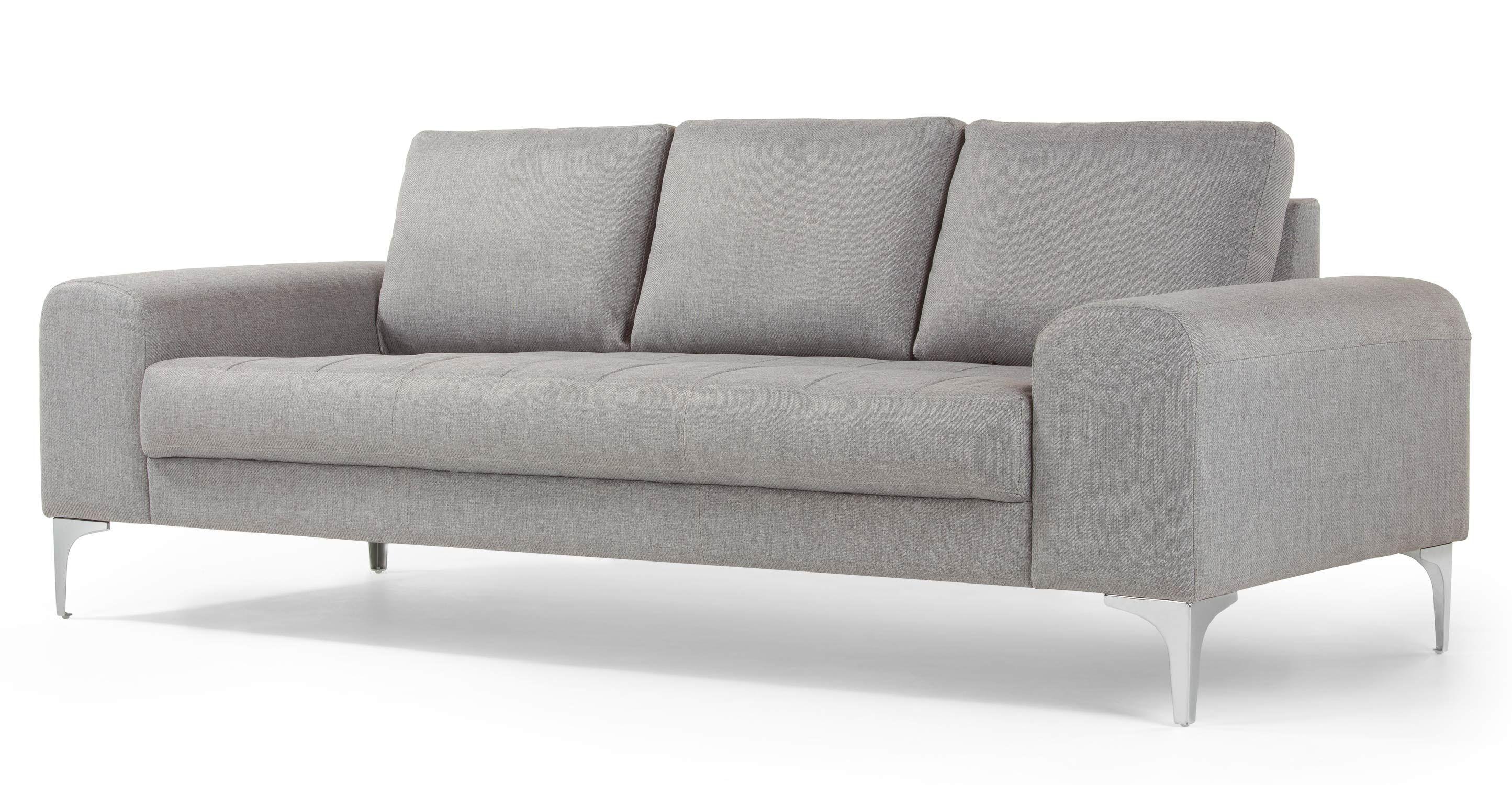 Vittorio 3 Seater Sofa Pearl Grey 3 Seater Sofa Seater Sofa Grey Sofa Bed