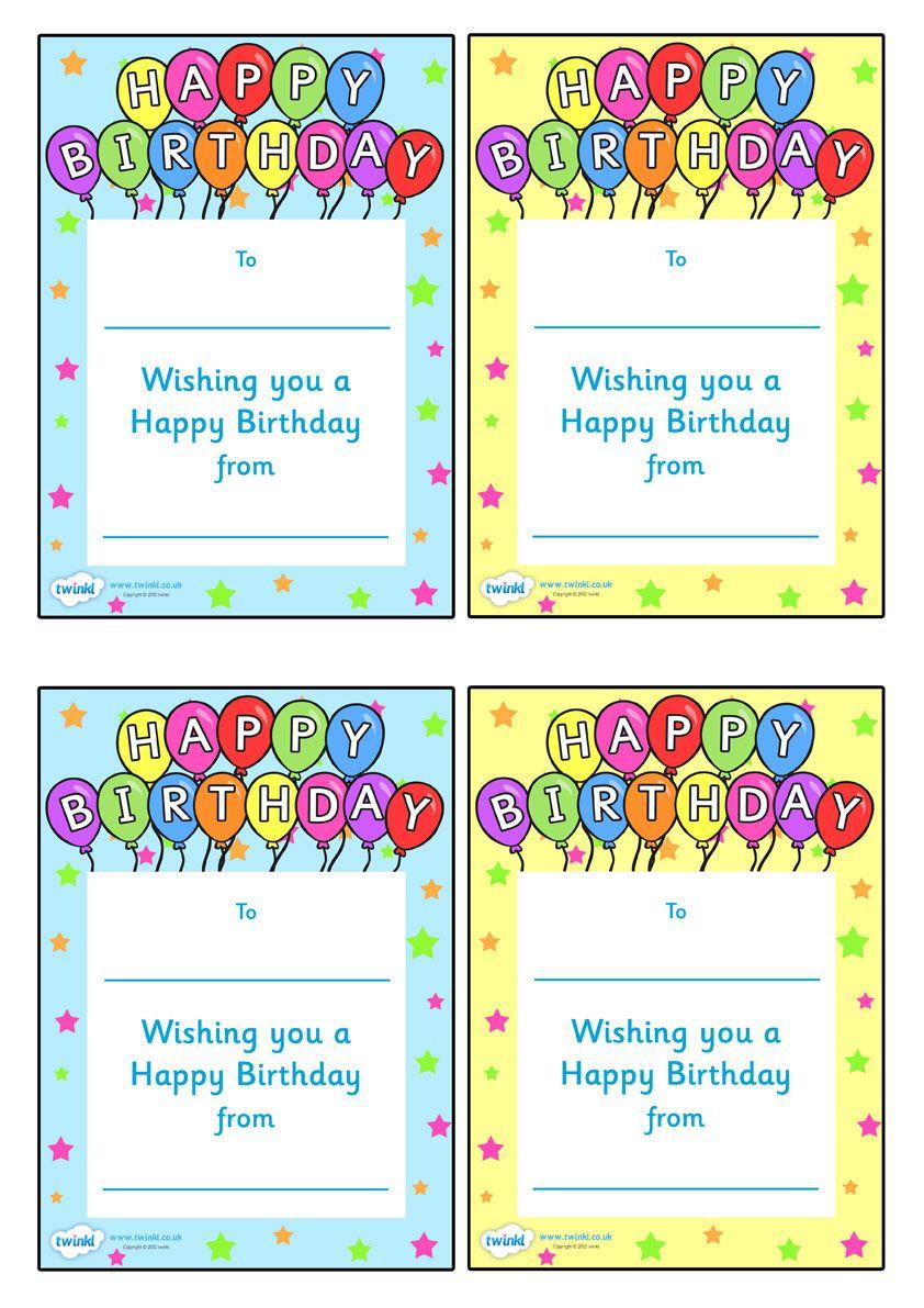 Note From Teacher Happy Birthday Happy Birthday Notes Birthday Certificate Class Birthdays