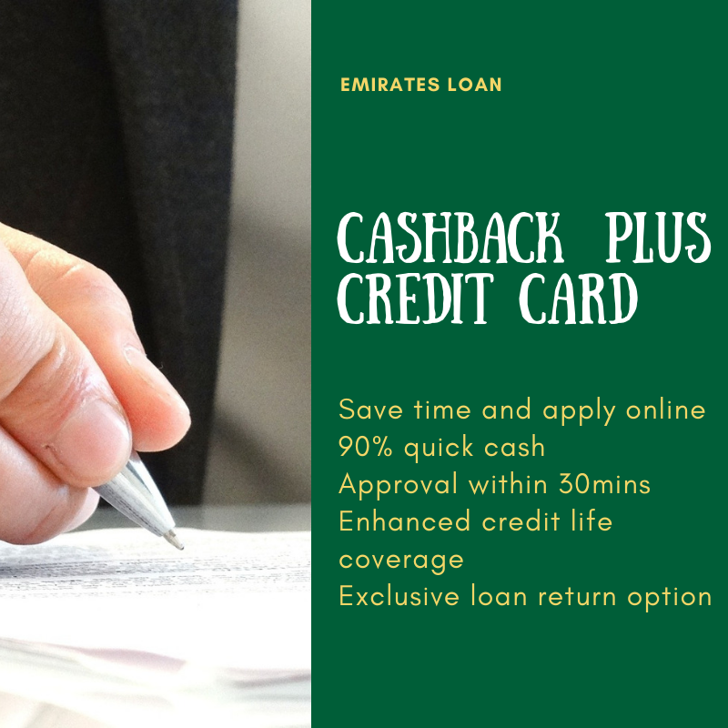 Cashback Plus Credit Card Credit Card Cashback Loan