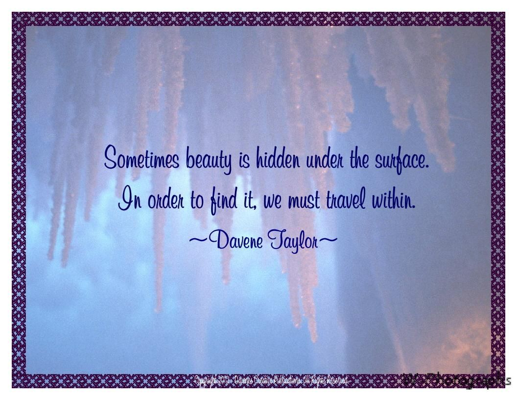 Inner Beauty Quotes For Women Love Is The Beauty That Is Hidden