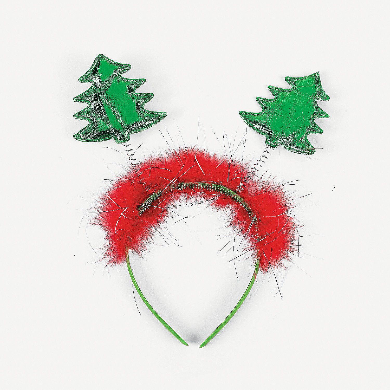 Christmas Tree Head Boppers Oriental Trading Christmas Bazaar Ideas Christmas Christmas Tree