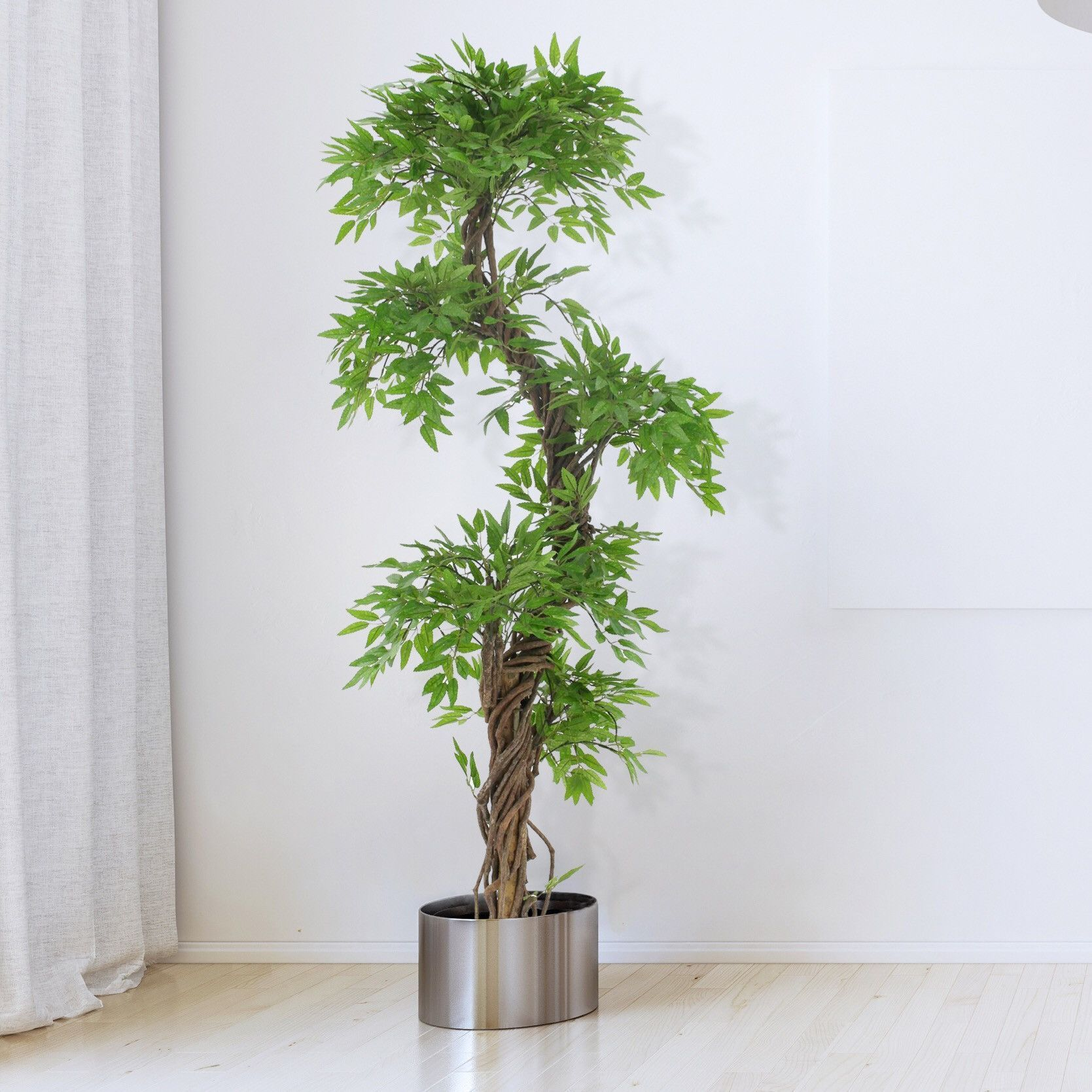 Oriental Fruticosa Artificial Trees Plants 6ft Silk Tree Searchforsmallartifi Artificial Plant Wall Artificial Plants Outdoor Artificial Plant Arrangements
