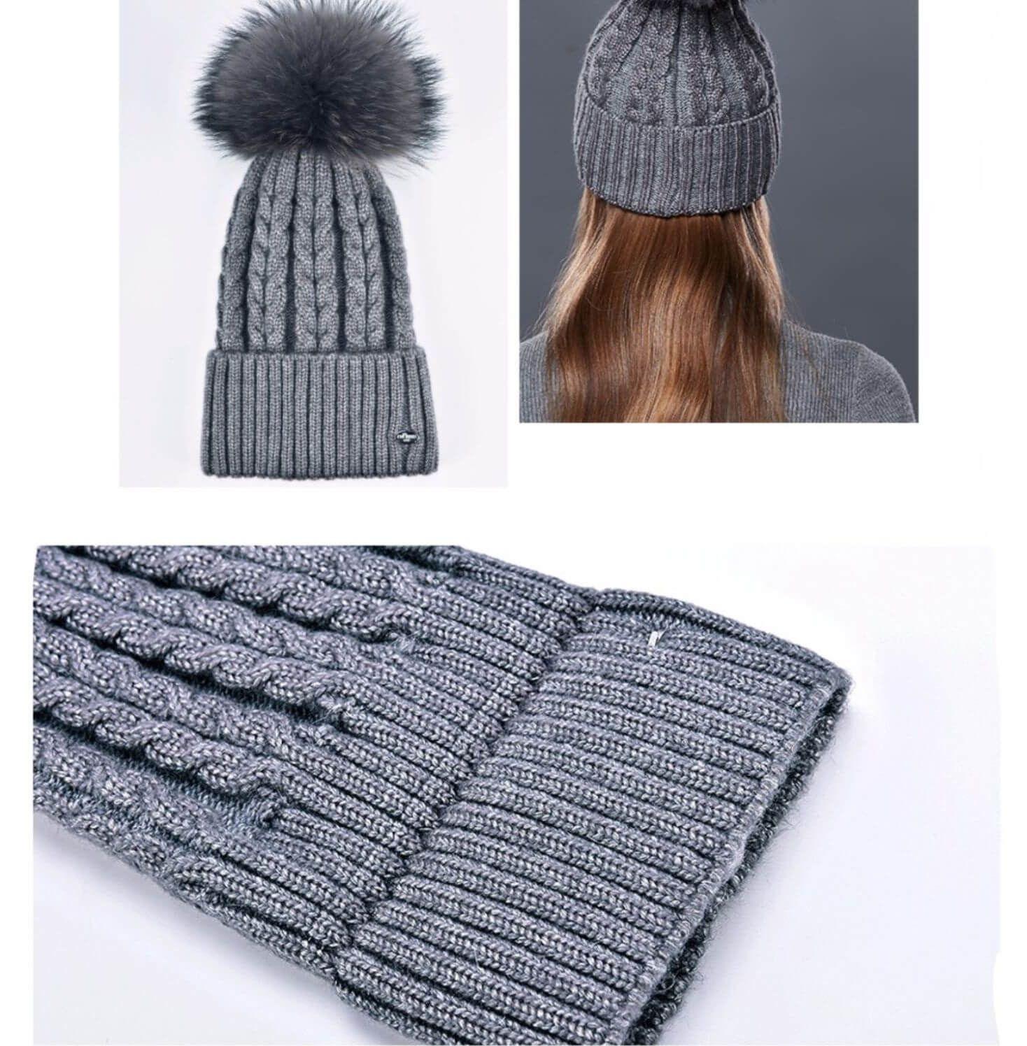 Шапка бини с косами спицами (схема вязания) | Шапка, Вязание