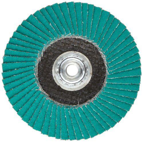 3 Diameter Ceramic Aluminum Oxide Roloc Cloth Disc 50 Pack YF Weight 3M 777F P100 Grit