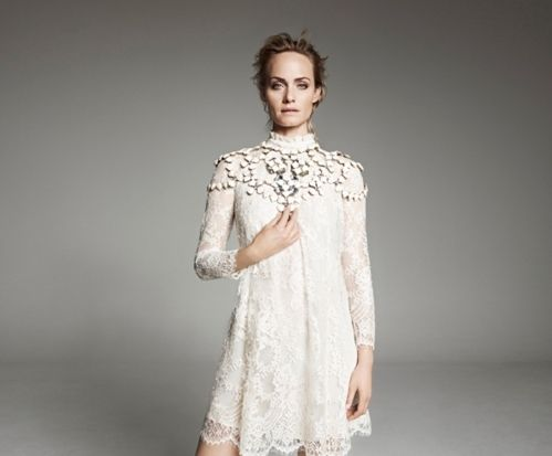 wedding H&M推精緻服飾 米蘭達上演濕身換衣秀 | 當季最IN | 服裝 | udn STYLE