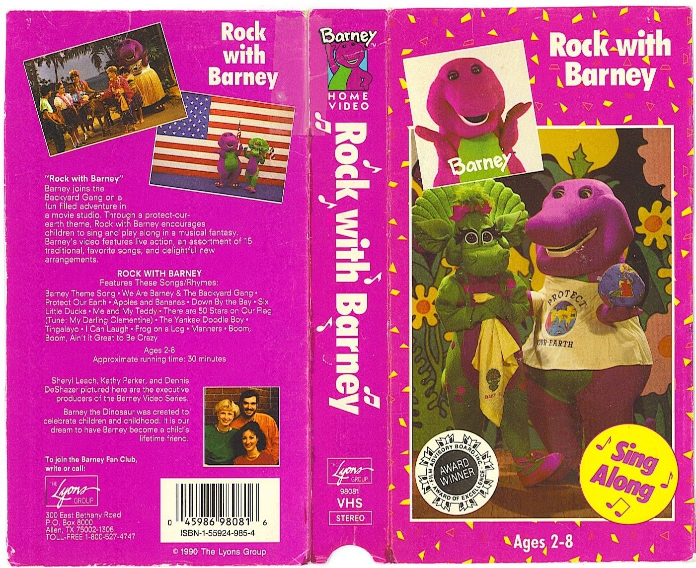 vhs barney hop to it bing images