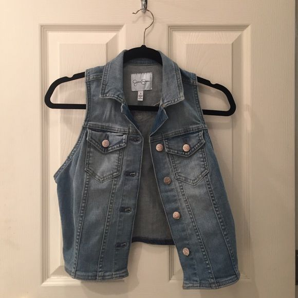 Brand new, never been worn jean jacket Never worn! Jessica Simpson jean jacket . No stains or rips. Jessica Simpson Jackets & Coats Jean Jackets