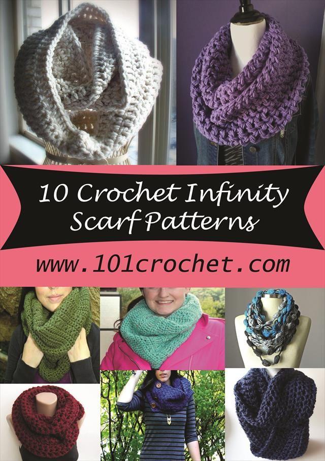 3 Button Crochet Scarf Pattern