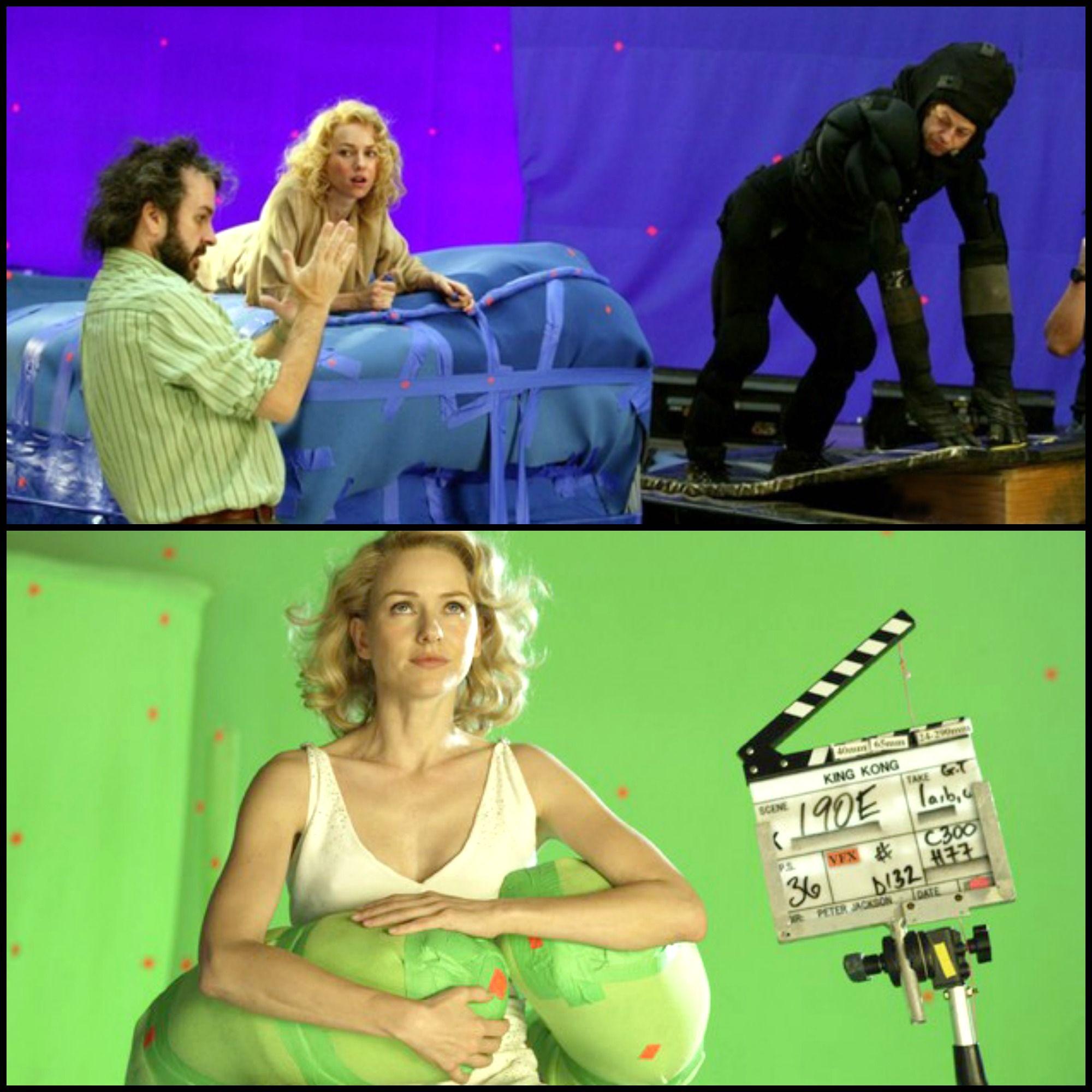King Kong 2005 Behind The Scenes Hey There Andy Serkis Cine Cinematografia Detras De Camaras