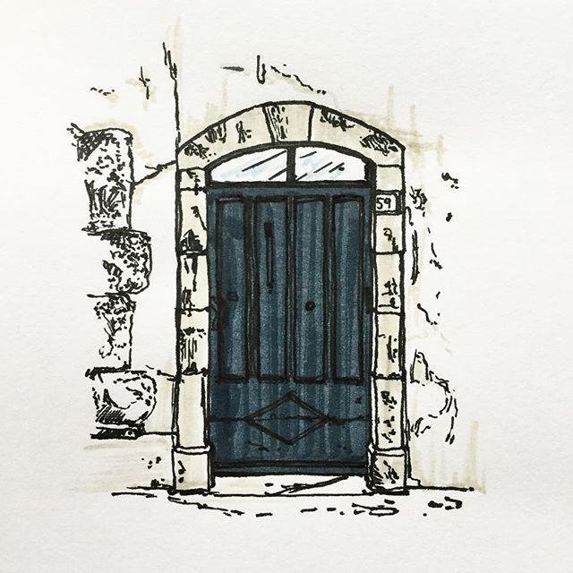 Doors of St. Tropez #59 #ink #pen #artist #art #  sc 1 st  Pinterest & Doors of St. Tropez #59 #ink #pen #artist #art #illustration ... pezcame.com