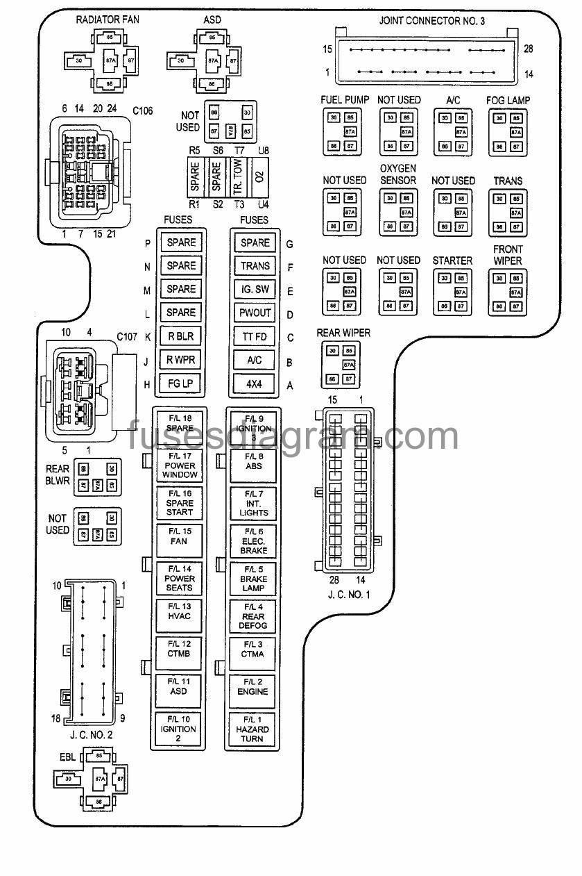 [DIAGRAM] 2005 Trailblazer Fuse Box Diagram Fuel Pump Fuse