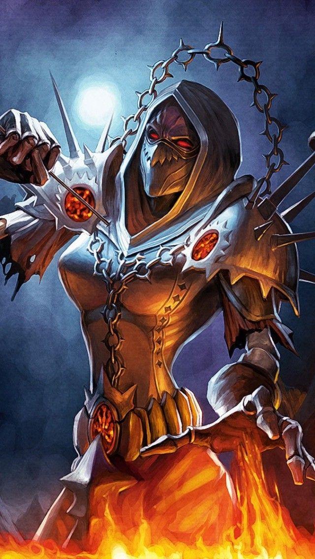 World of Warcraft Warlock Fan Artwork Wallpaper Free