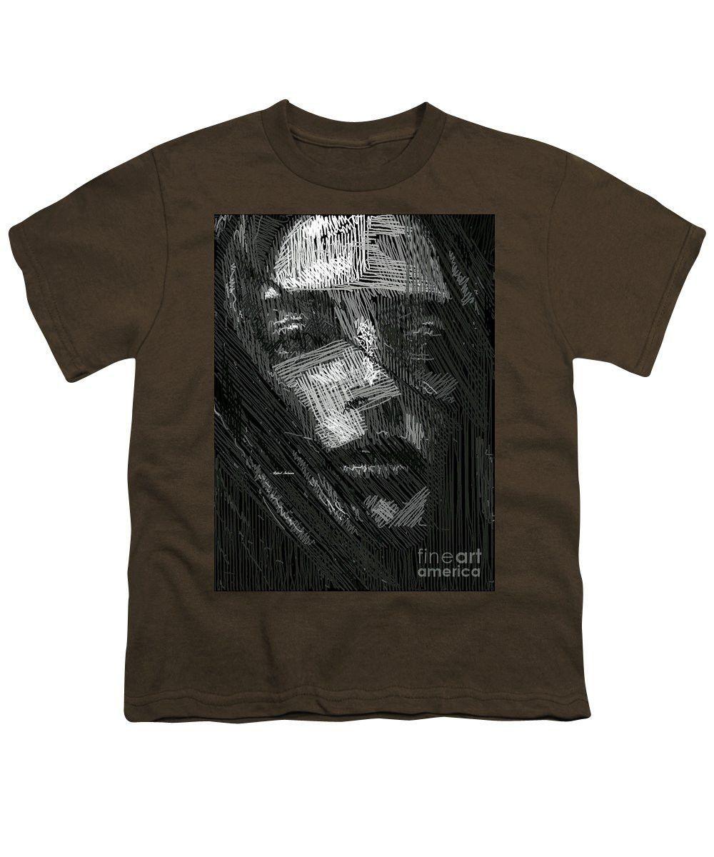 Youth T-Shirt - Studio Portrait In Pencil 38