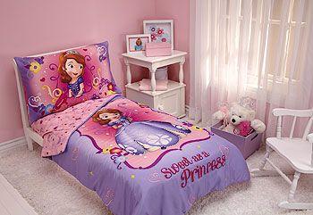 Disney Jr Sofia The First 4 Piece Toddler Bedding Set Toddler Bed Set Toddler Bed Toddler Comforter