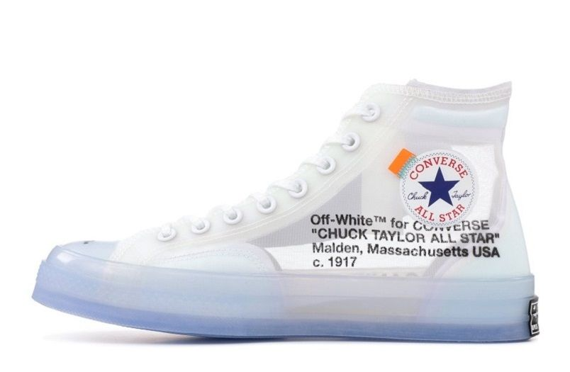 6730a161d2b Best Fake Off-White x Converse Chuck Taylor All-Star Sneakers for Sale -  162204C (1)
