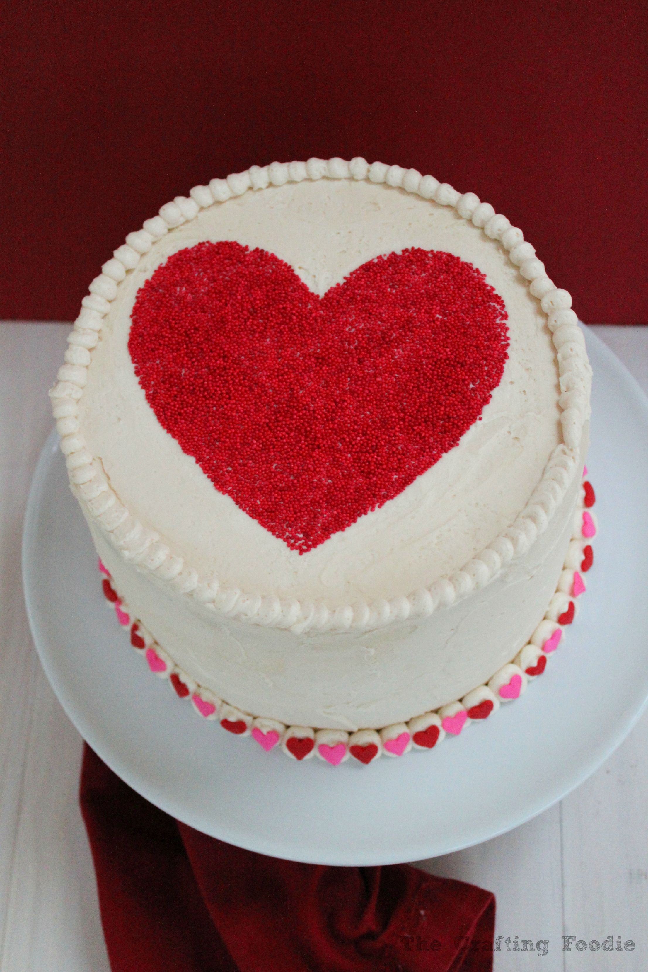 This Valentine S Day Red And Pink Velvet Cake Is So Good