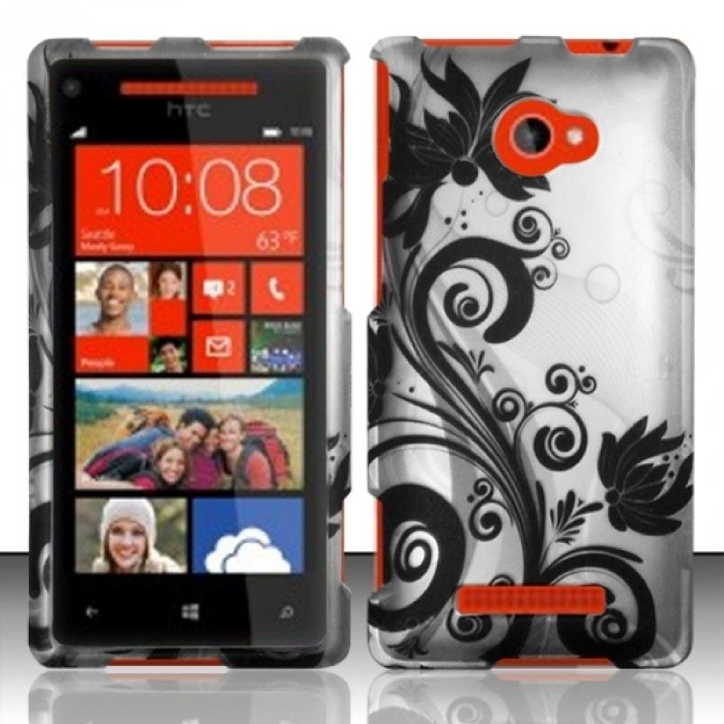 Insten Dust Proof Rubberized Hard Plastic Phone Case Cover for HTC Windows Phone 8X Zenith 6990