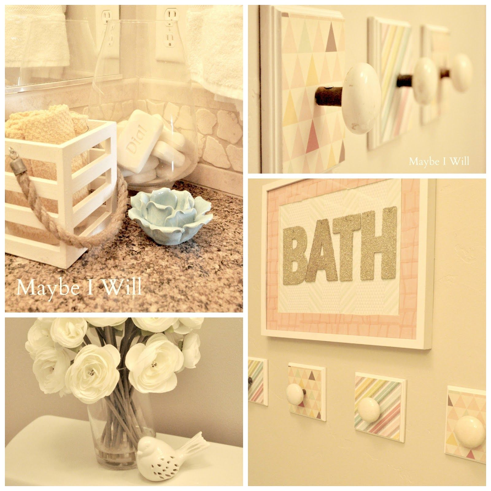 Maybe I Will... Bathroom makeover!!! This is my add-in-law' s blog. She's awesome!