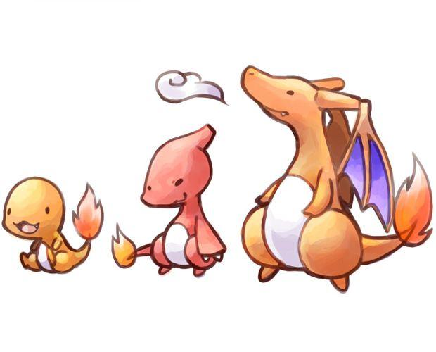 charmander charmeleon charizard evolution chain ...