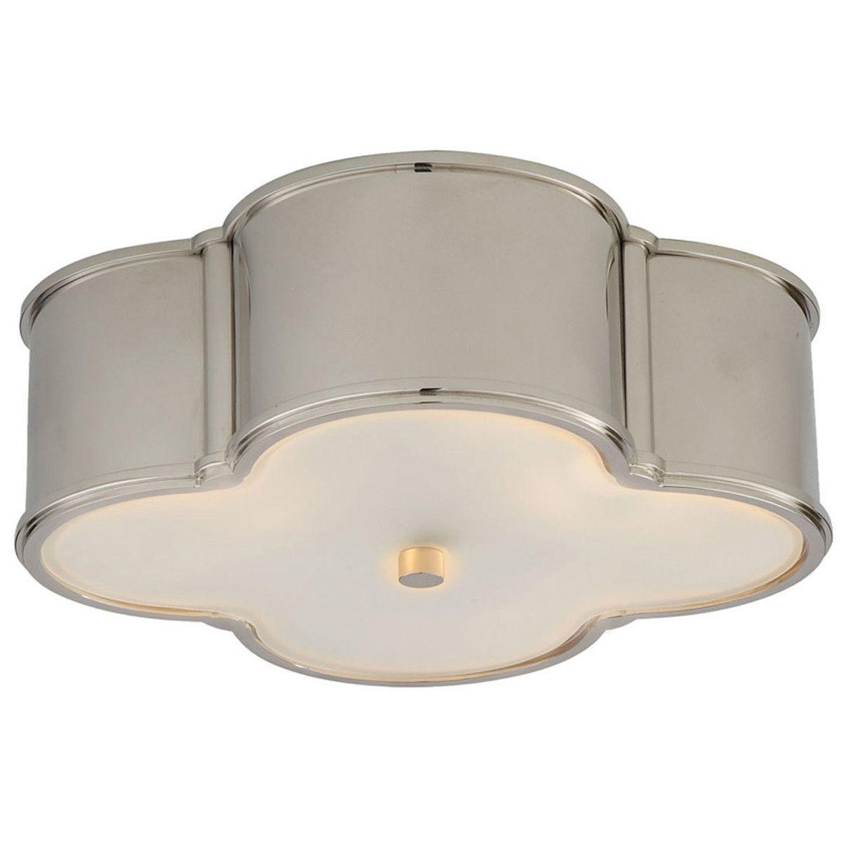 Visual Comfort Lighting Alexa Hampton Basil 3 Light Flush Mount
