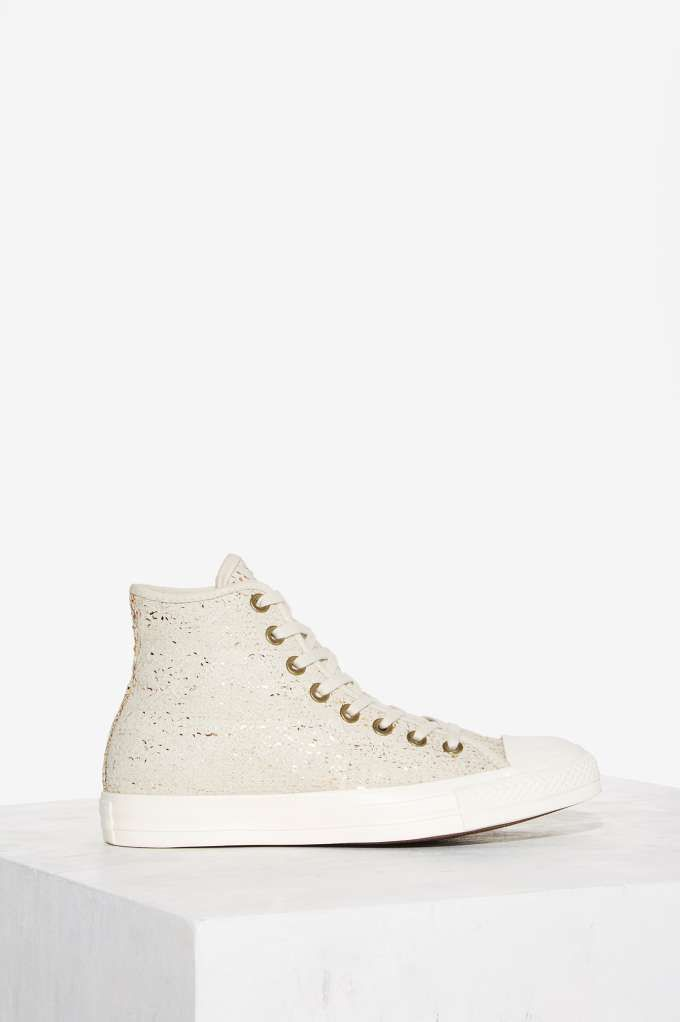Converse Chuck Taylor All Star High-Top Sneaker - Sequin   Shop Shoes at Nasty Gal!