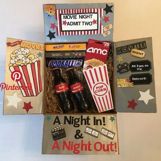 Date Night DIY #birthdaybasket