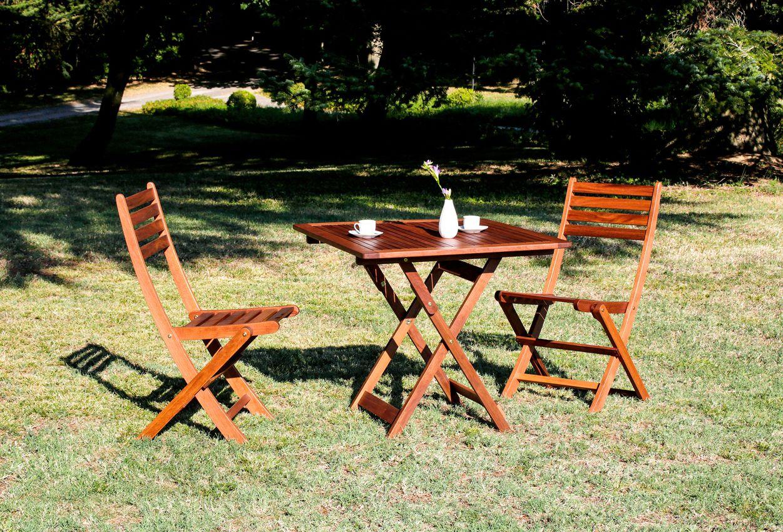 Tavolo Da Terrazzo Pieghevole : Grazioso tavolo da esterno dalle misure contenute e pieghevole. per