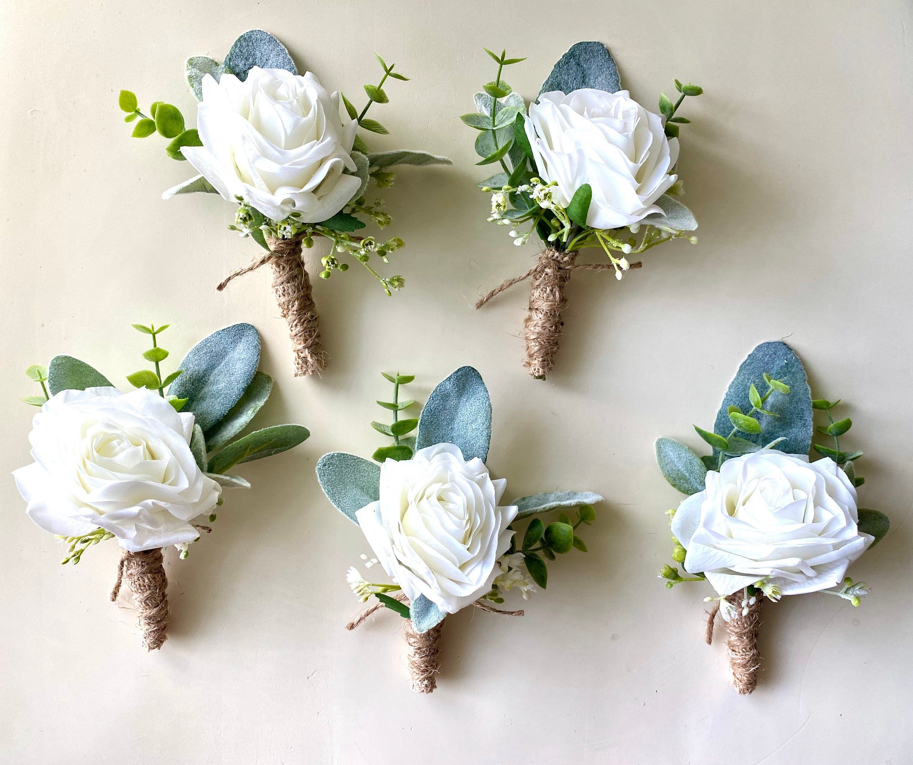 Wedding bouquets and boutonnieres flower Bouquet quinceanera Bouquet Bouquet and boutonniere Set